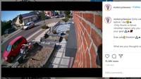 Ngilu! Hanya Pakai Celana Pendek, Bikers Ini Kecelakaan dan Terseret di Ujung Besi Pagar