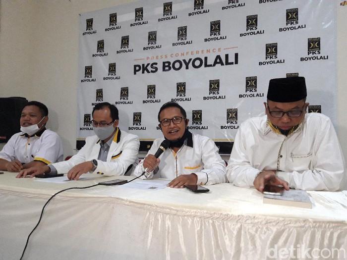 PKS Boyolali menyatakan abstain dari Pilkada Boyolali 2020, Jumat (18/9/2020).