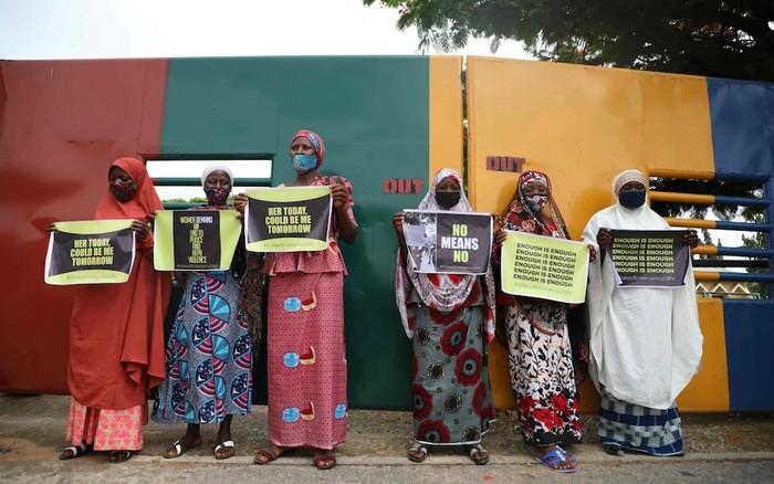 Wanita Nigeria protes maraknya kasus pemerkosaan sejak pandemi COVID-19