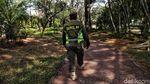 PSBB, Taman Jogging Kelapa Gading Dijaga Ketat
