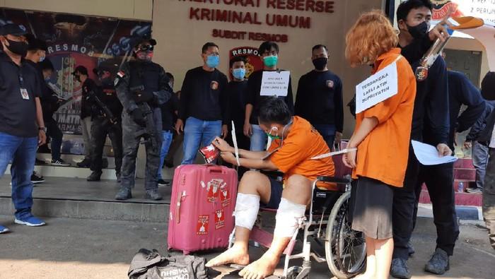 Rekonstruksi kasus mutilasi Rinaldi Harley Wismanu