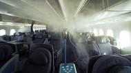 Canggih, Pesawat Ini Punya Robot Penyemprot Anti-mikroba
