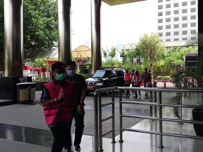 Tersangka Suap Djoko Tjandra Andi Irfan Diperiksa Penyidik Kejagung di KPK