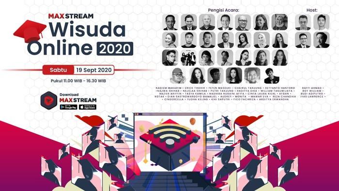 Wisuda Online Maxstream 18 September