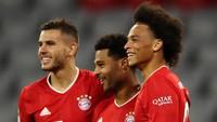Bayern Vs Schalke: Gnabry Hat-trick, Die Roten Pesta Gol 8-0