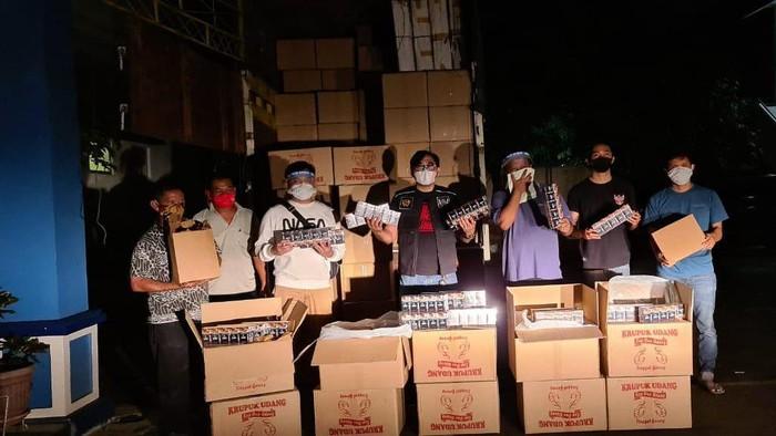 Bea Cukai Banten sita 3 juta batang rokok ilegal