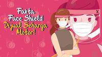 Fakta Face Shield Seharga Motor