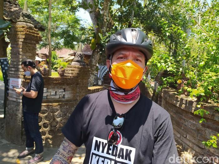 Gubernur Jawa Tengah Ganjar Pranowo di Omah Mbudur