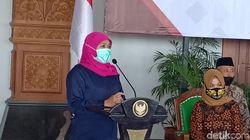 Gubernur Khofifah Ingatkan Patuhi Protokol Kesehatan Selama Masa Kampanye
