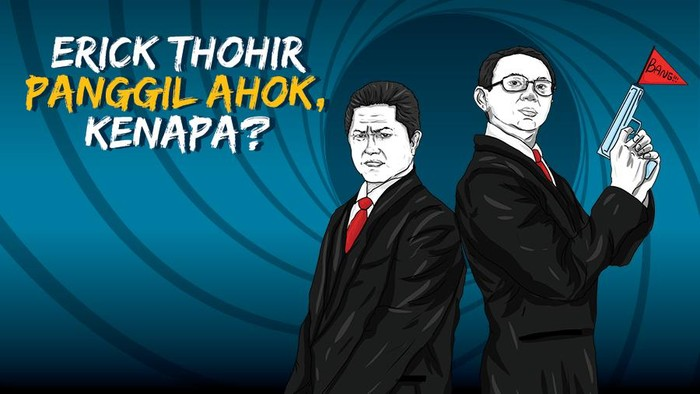 Hasil pertemuan Menteri BUMN Erick Thohir dan Ahok usai terbongkarnya sederet masalah di Pertamina