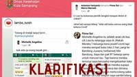 Viral Ajakan Sebar Corona di Semarang, Satgas COVID-19 Turun Tangan