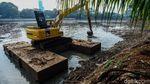 Kondisi Terkini Pintu Air Situ Parigi yang Jebol Karena Hujan
