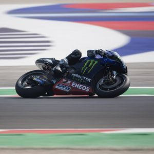 Hasil Kualifikasi MotoGP Emilia Romagna: Vinales Rebut Pole Position