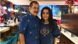 Potret Romantis Bambang Trihatmodjo dan Mayangsari Saat Makan Bareng