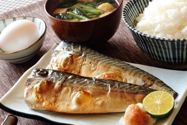 Menu sarapan tradisional Jepang