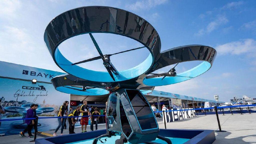 Mobil Terbang Turki Mulai Diuji