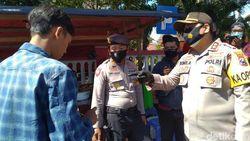Operasi Yustisi Digelar di Kawasan Wisata Mojokerto