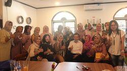 Giliran Emak-emak Pengusaha Jambi Dukung Al Haris-Abdullah