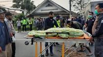 Terpental Usai Ditabrak Ambulans, Pemotor di Sukabumi Tewas