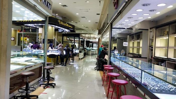 Penampakan Cikini Gold Center (CGC) terkini.q