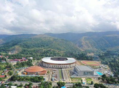 Takjub Melihat Megahnya Istora Papua