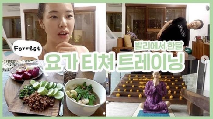 Seleb Korea yang jalani vegan