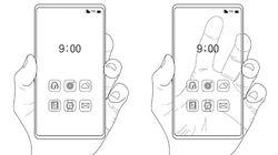 Samsung Patenkan Smartphone Transparan, Keren!