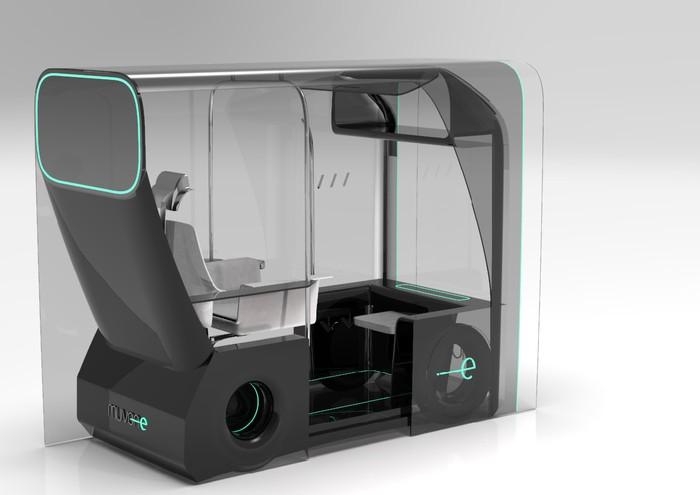 Taksi personal masa depan anti COVID-19