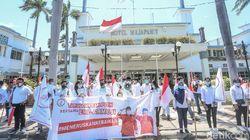 Taruna Merah Putih Surabaya Deklarasi Dukung Eri-Armuji