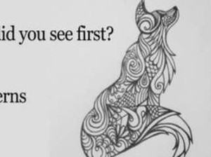 Tes Kepribadian: Gambar Serigala atau Pola yang Pertama Kamu Lihat?