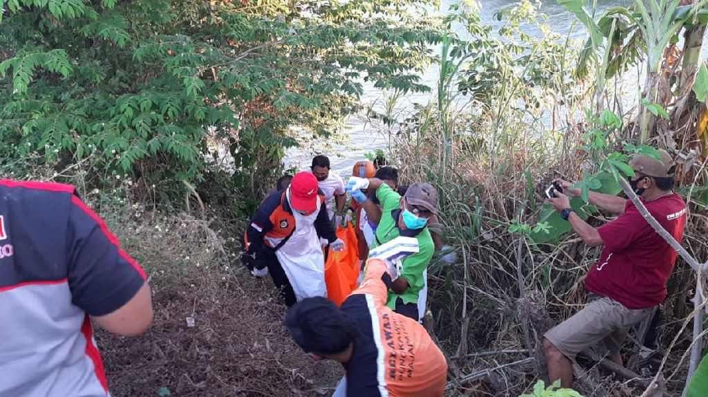 Residivis di Mojokerto Tewas Tenggelam Saat Kabur dari Kejaran Polisi