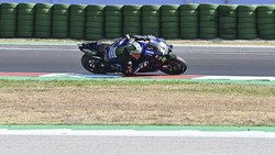Rebut Pole, Vinales Waspadai Bagnaia di MotoGP Emilia Romagna