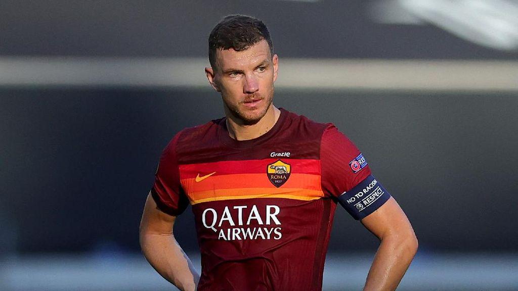 Kenapa Roma Tak Mainkan Dzeko di Pekan Pertama Liga Italia?