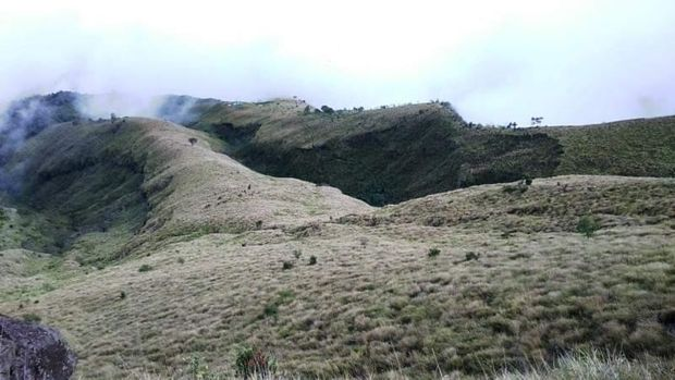 Gunung Sumbing di Wonosobo.