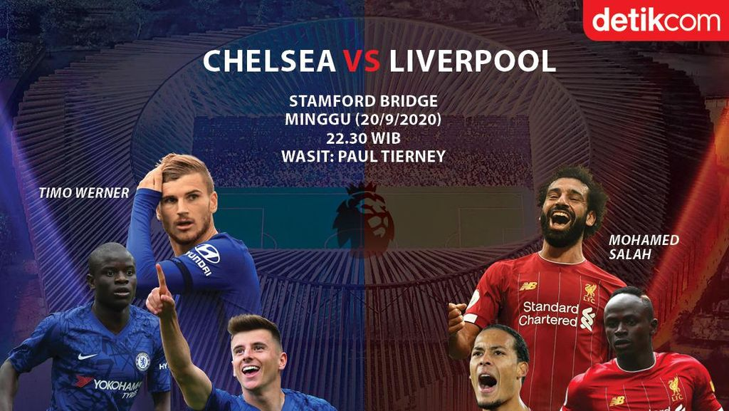 Chelsea Vs Liverpool: Sengit di London Barat