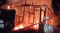 Rumah Nenek 80 Tahun di Trenggalek Ludes Terbakar