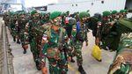 450 Prajurit Satgas Pamtas RI-Malaysia Dipulangkan