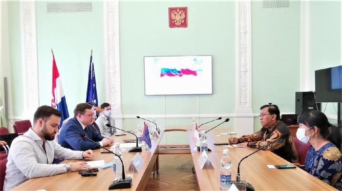 Kunjungan kerja KBRI Moskow ke Kota Samara
