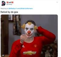 Meme De Gea Lindelof