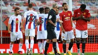 MU Vs Crystal Palace: Setan Merah Takluk 1-3 di Old Trafford