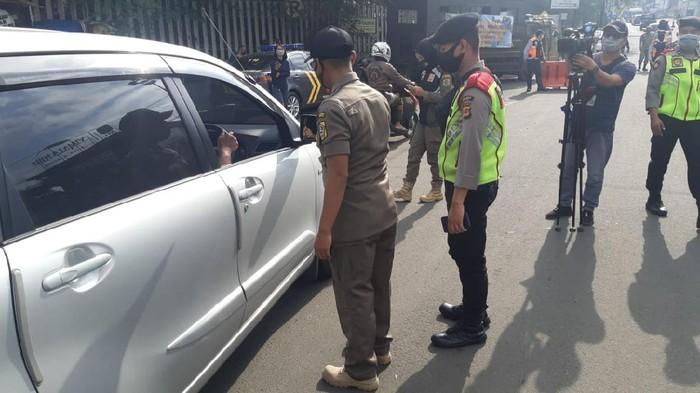 Operasi yustisi di Bogor