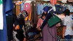 Pedagang Pasar Baru Terkena Imbas Penutupan Jalan Otista-Suniaraja