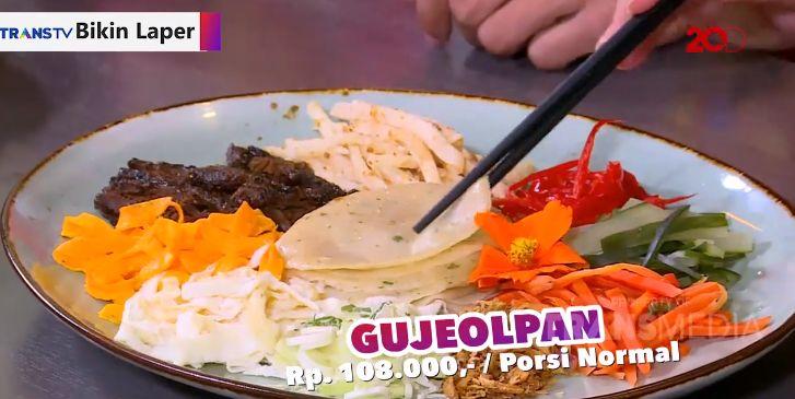 Puas Makan Gujeolpan dan Sup Buntut khas Korea yang Empuk Juicy
