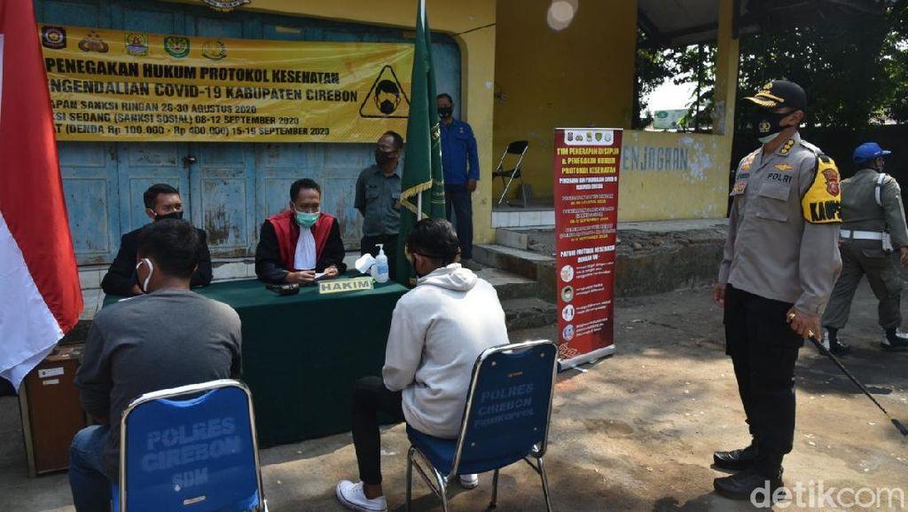 Tak Bermasker, 12 Ribu Lebih Warga Cirebon Kena Sanksi