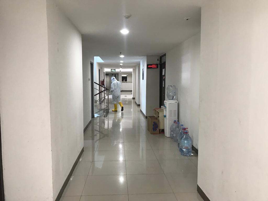 Room Tour Wisma Atlet yang jadi tempat isolasi pasien COVID-19 tanpa gejala. (Dok pribadi Christman Datubara)