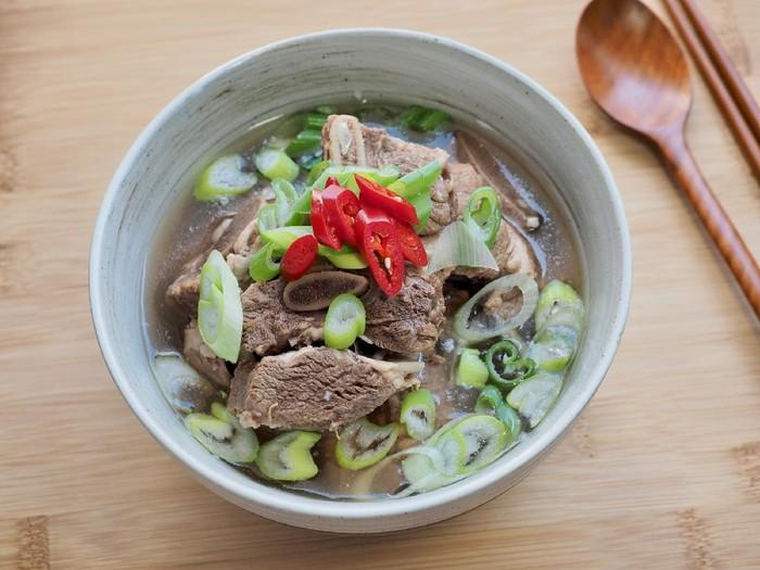 Sup Iga Sapi Korea