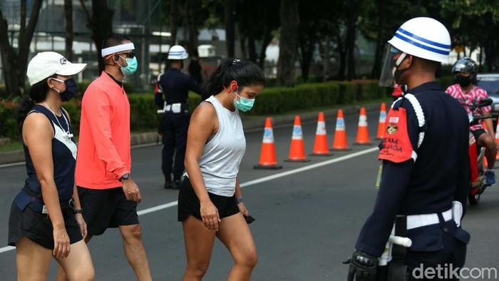 Pengelola membuka kawasan Gelora Bung Karno (GBK) saat Pembatasan Sosial Berskala Besar di Jakarta. Namun mereka memperketat penerapan protokol kesehatan.