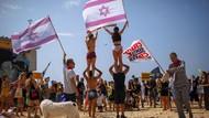 Aksi Warga Israel Demo di Pantai Tolak Lockdown Jilid 2