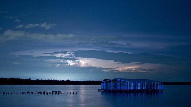Fenomena petir abadi di Danau Maracaibo