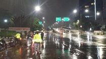 Banjir di Underpass Karet Bivak Surut, Kendaraan Bisa Melintas Lagi